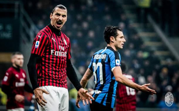 Zlata is back / Foto: Twitter oficial AC Milan