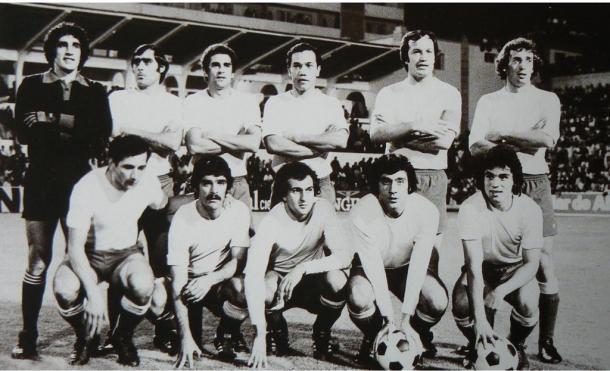 Plantilla de Las Palmas en la temporada 1976/77 | Fotografía: UD Las Palmas