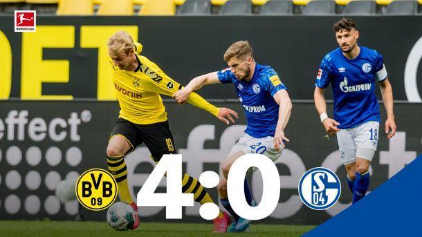 ¡Volvió el fútbol a Alemania! | Foto: Bundesliga