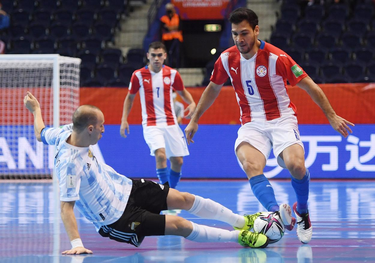 Damián Stazzone, pilar del equipo argentino. Foto; Selección Argentina.