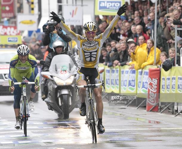 Boasson-Hagen has won Ghent-Wevelgem before, but this year it wasn't his time / Getty Images, Lars Ronbog