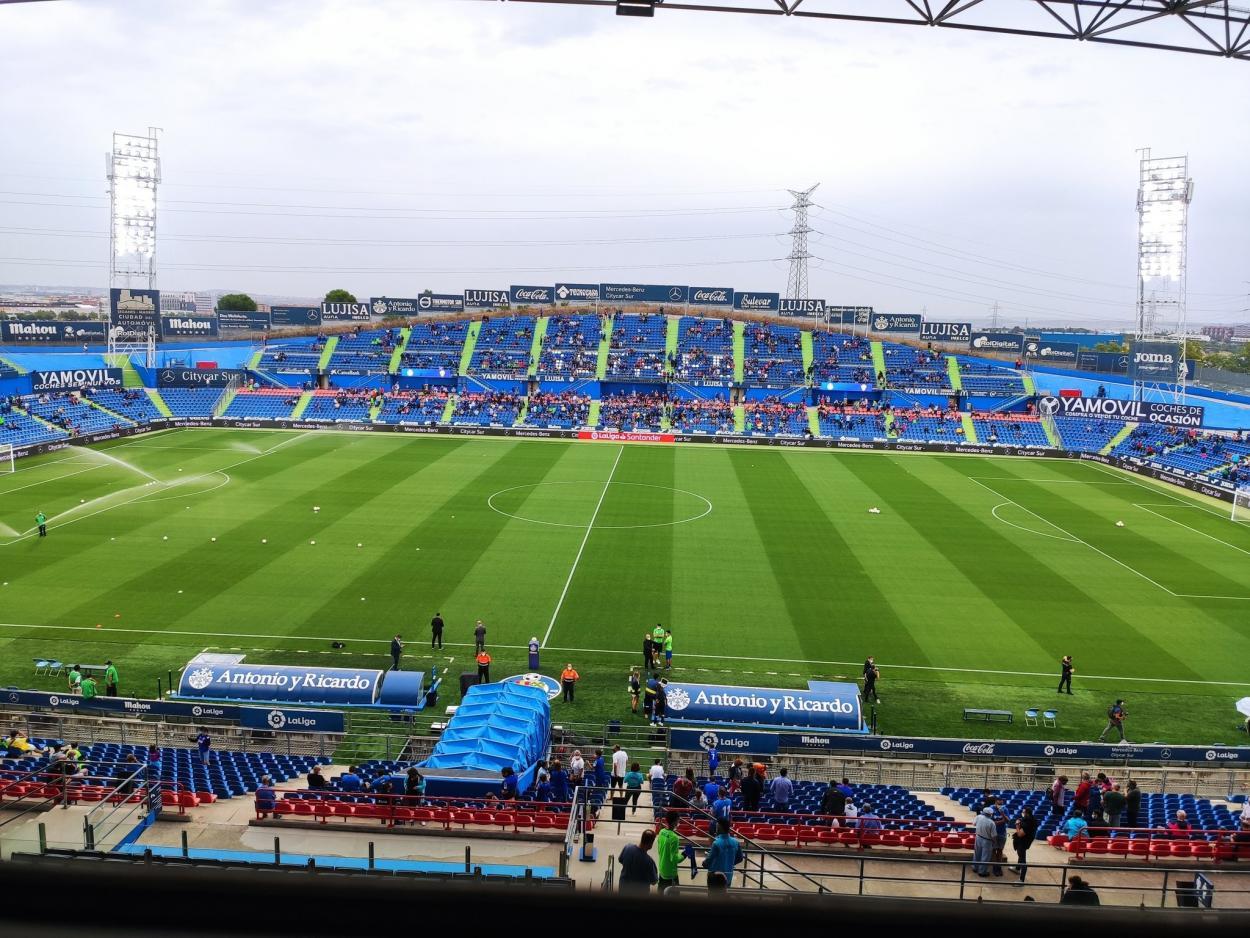 Coliseum Alfonso Pérez / Fuente: Getafe CF