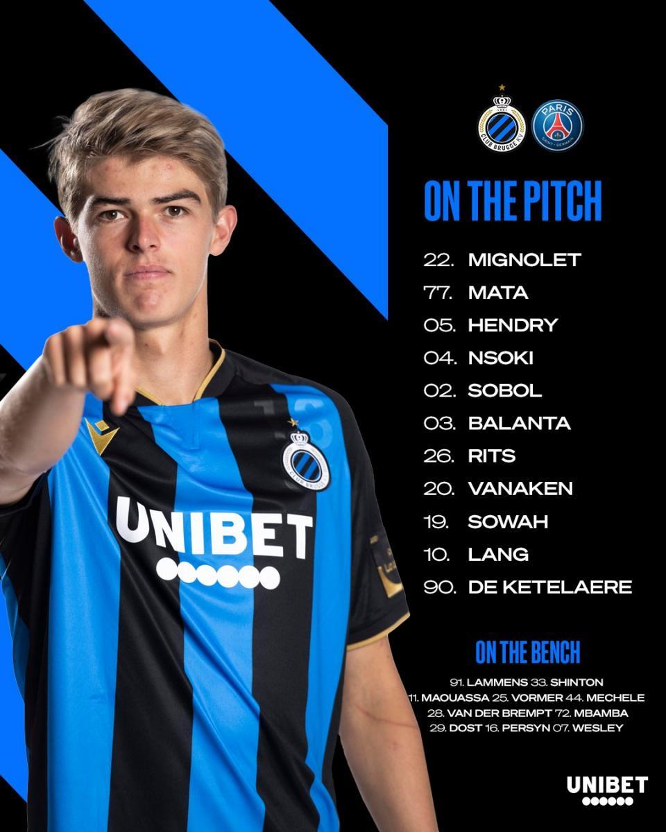 Divulgação/Club Brugge KV