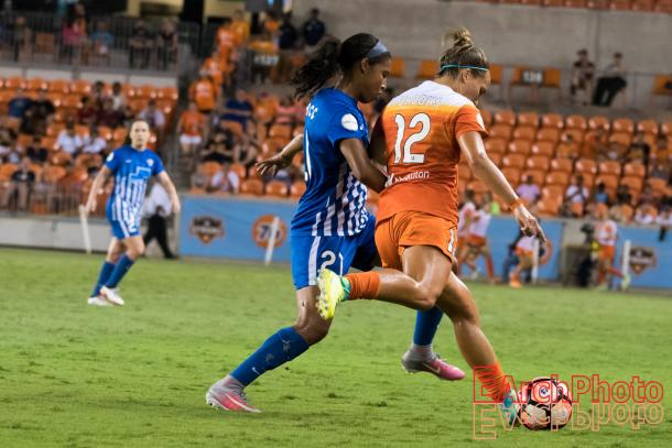 The Dash defense held up well against Boston | Source: E. Sbrana - Earchphoto
