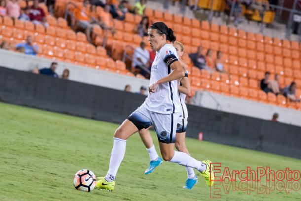 Christine Sinclair will want to lead her team to another NWSL Championship | Source: E. Sbrana-Earchphoto