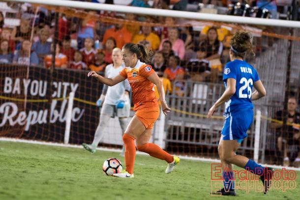 Andressinha has two goals and two assists this NWSL season | Photo: E. Sbrana - Earchphoto