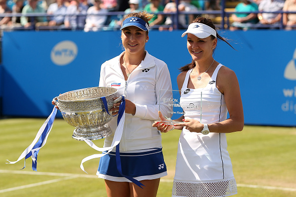 Bencic beat Agnieszka Radwanska in the final last year (Getty Images/Ben Hoskins)