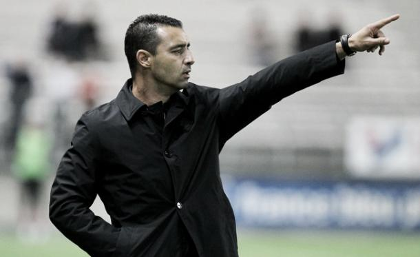 Sochaux foi o último trabalho do treinador, na Ligue 2 na temporada 2014/15. (Foto: fcsochaux.fr)