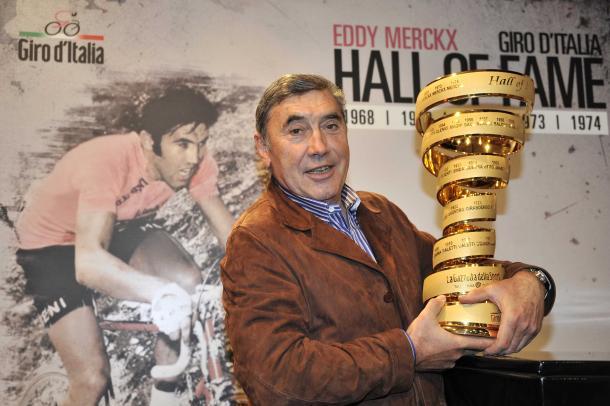 Eddy Merckx, inserito nella Hall of Fame del Giro. Fonte: Cycling Weekly