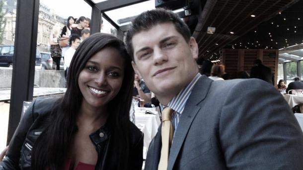 Eden pictured with her husband Cody Rhodes (image: gohotlist.com)