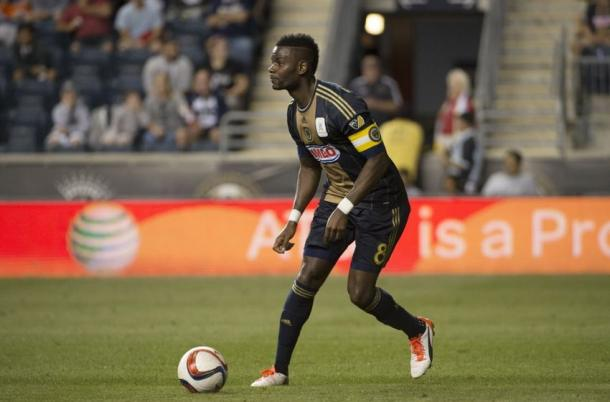 Maurice Edu is a player to watch | Source: Derik Hamilton - USA TODAY Sports