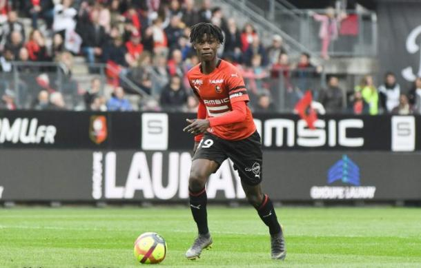 Eduardo Camavinga has become the valuable under 18 player in the world this season. | Photo: Philippe Le Brech