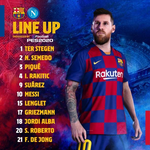 Foto: Twitter FC Barcelona