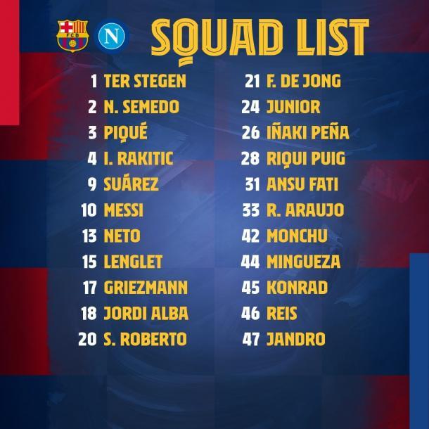 Foto: Twitter FC Barcelona (@FCBarcelona_es)