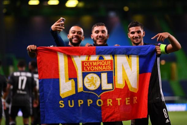 Um time unido jamais será vencido? (Foto: Divulgação / Lyon)