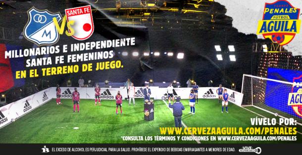 Así se veía el escenario en el que se desarrolló el evento: Imagen: @CervezaAguila.