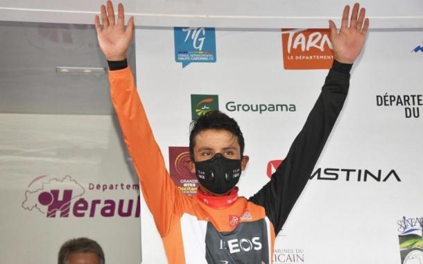 Egan Bernal terminó como ganador de la route d'occitanie. Imagen: semaforodeportivo.com