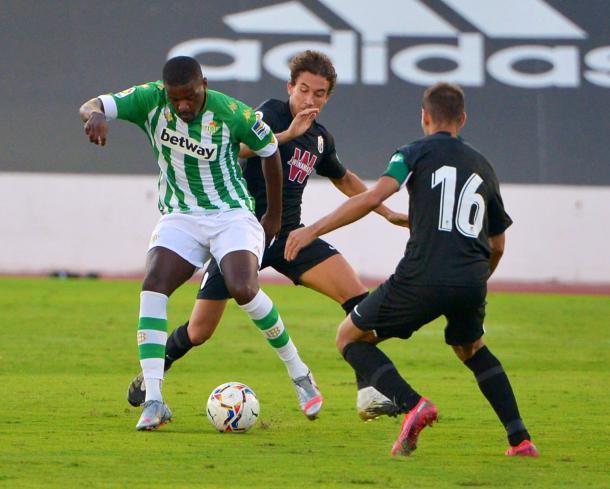 Carvalho en el partido frente al Granada | Fotografía: @wllmcarvalho14