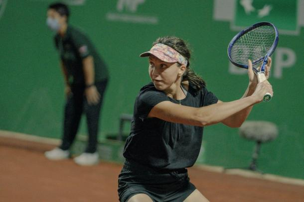 Romania's Tig scored back-to-back wins over seeded opponents to seal her spot in the last four in Istanbul. Photo: Tennis Championship Istanbul