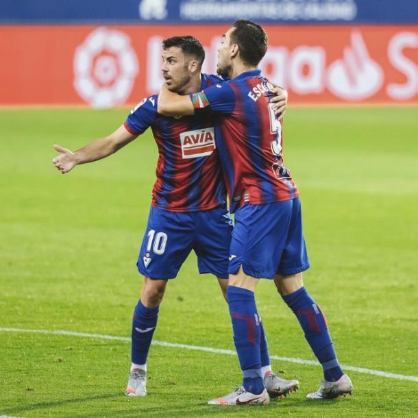 El Eibar venció a otro grande como el Valencia tres jornadas atrás. Foto: sdeibar.com