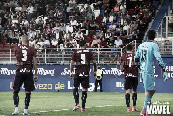 Última derrota de la temporada en Ipurúa   Foto: Ángel Ezkurra - VAVEL