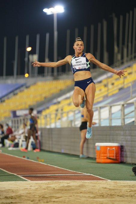 Maryna Bekh-Romanchuk at Doha | Photo: Matthew Quine