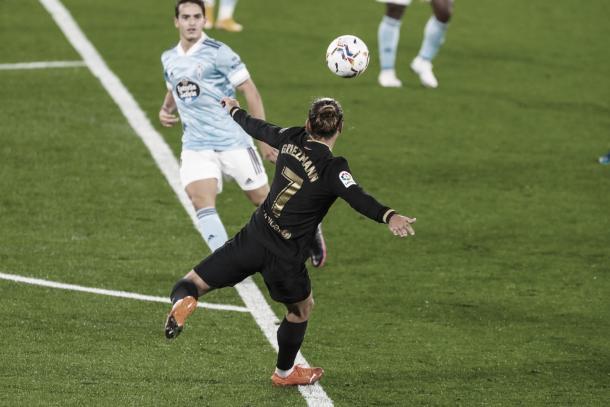 Griezmann en una oportunidad para el Barça. | Foto: FC Barcelona