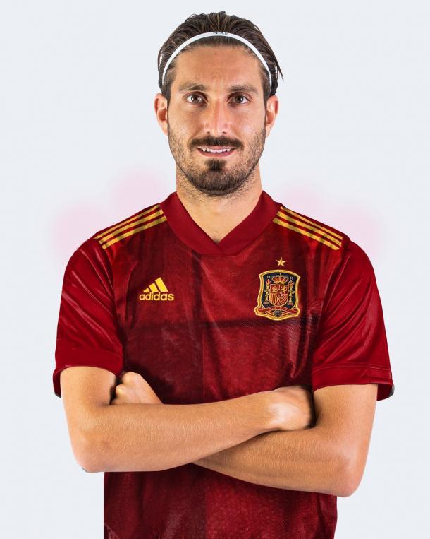 José Gómez Campaña con la camiseta de la selección española / Twitter: José Campaña