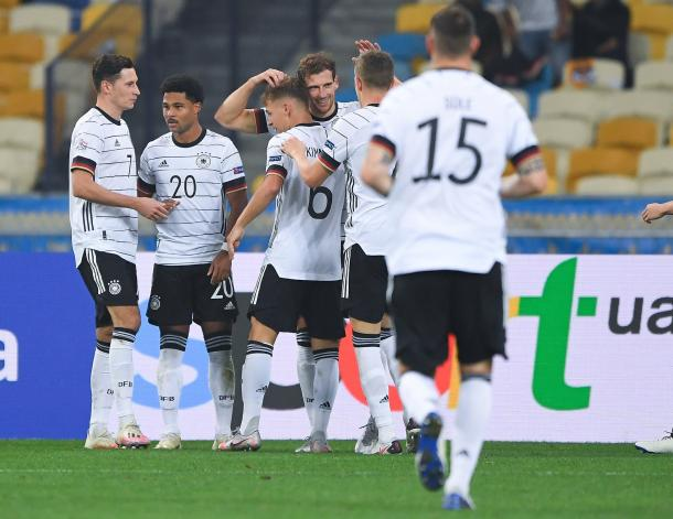 Alemania dominó, no sentenció y pudo pagarlo caro / FOTO: UEFA