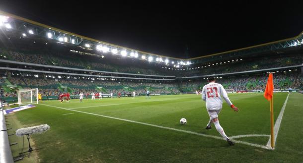 José Campaña debutó con España frente a Portugal   Foto: @JoseGCampana