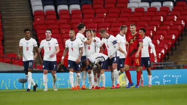 Inglaterra venció sin dejar su mejor versión / FOTO: UEFA