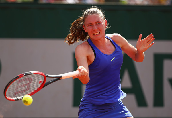 Ekaterina Alexandrova in action at the French Open | Photo: Clive Brunskill/Getty Images Europe