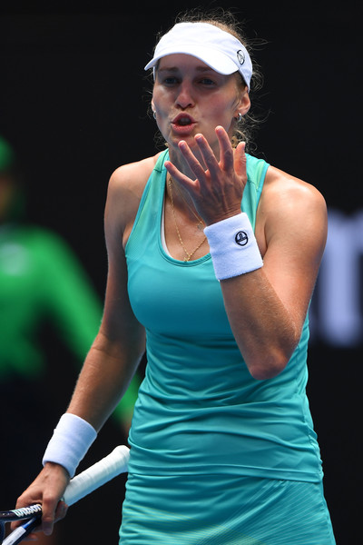 Ekaterina Makarova would be frustrated with her performance today | Photo: Quinn Rooney/Getty Images AsiaPac