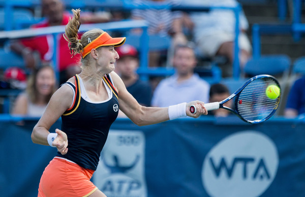Ekaterina Makarova in action at the Citi Open | Photo: Tasos Katopodis/Getty Images North America