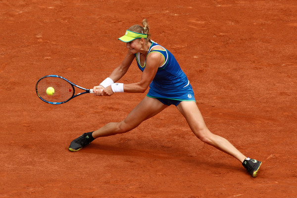 Ekaterina Makarova looked great today | Photo: Adam Pretty/Getty Images Europe