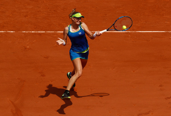 Ekaterina Makarova progresses to the second round | Photo: Adam Pretty/Getty Images Europe