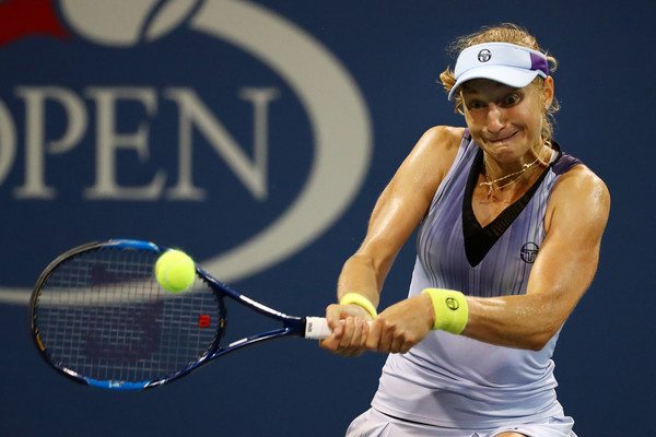 Ekaterina Makarova will be playing qualifying at a tournament for the first time since 2011 | Photo: Al Bello/Getty Images North America