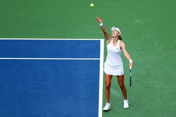 Ekaterina Makarova's serves were too good today | Photo: Maddie Meyer/Getty Images North America