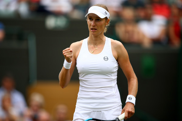 Ekaterina Makarova reached the second week of Wimbledon | Photo: Clive Brunskill/Getty Images Europe