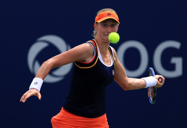 Ekaterina Makarova in action at the Rogers Cup | Photo: Vaughn Ridley/Getty Images North America