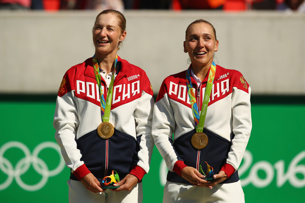 Ekaterina Makarova won the Rio Olympics gold medal alongside Elena Vesnina | Photo: Clive Brunskill
