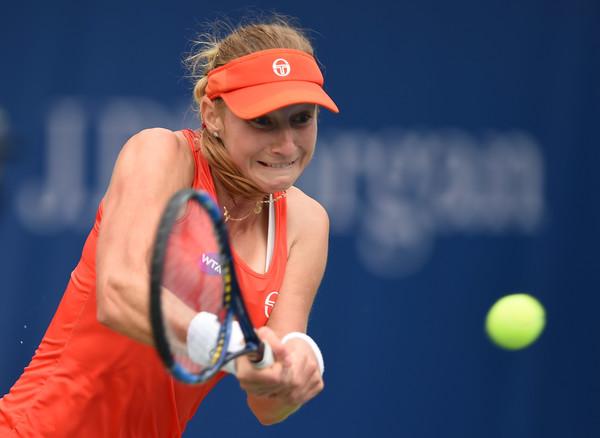 Ekaterina Makarova had a lackluster season thus far | Photo: Tom Dulat/Getty Images Europe