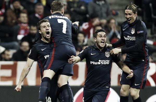 El gol de Griezmann permitió la clasificación a la final   Fotografía: Atlético de Madrid