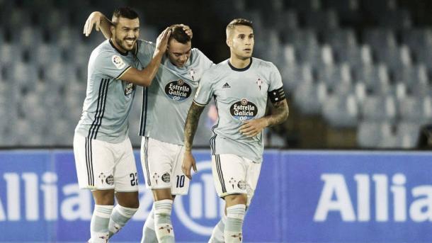 El Celta de Vigo celebrando un gol | Foto: BBC