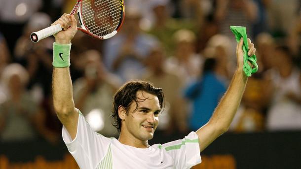 Federer 2006 Foto: El Español