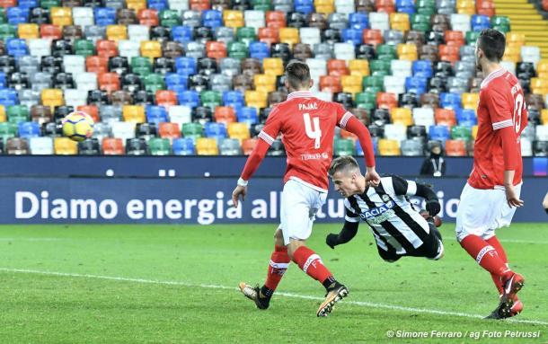 El vuelo de la gallina | Foto: Udinese