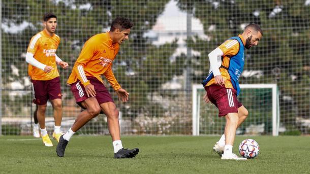 Entrenamiento del Real Madrid | Fuente: www.realmadrid.com