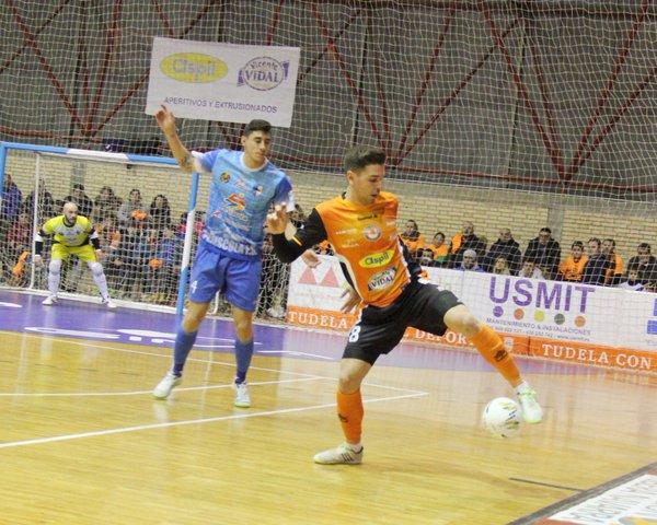 Andresito se tendrá que echar el equipo a sus espaldas | Aspil Vidal Ribera Navarra FS