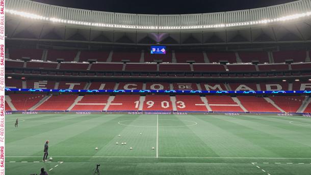 Wanda Metropolitano / Twitter: Red Bull Salzburgo