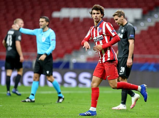 Doblete de Joao Félix / Twitter; Atlético de Madrid